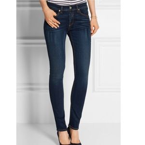 Rag and bone skinny jeans in woodford wash